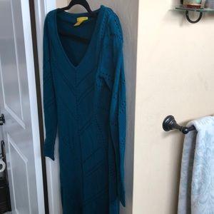 Catherine Malandrino 100% wool sweater dress